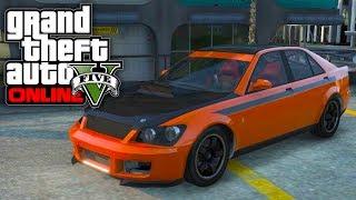 GTA 5 Online: Sultan RS BEST Spawn Location! Secret Cars Customization (GTA V)