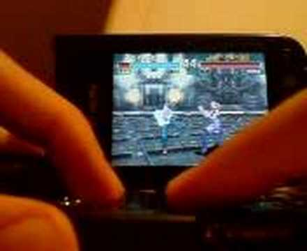 Tekken Advance on my Nokia N93 with vBag