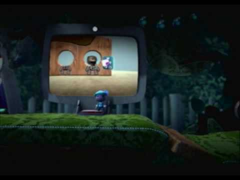Little Big Planet (PS3) Gameplay Part 4 (The Gardens - Skate To Victory)