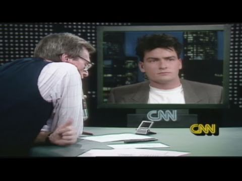 CNN Official Interview: In 1988, Larry King speaks with Charlie Sheen on fame