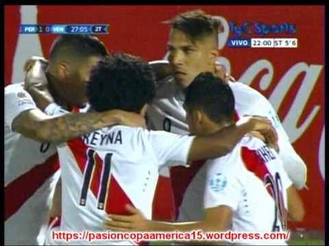 Peru 1 Venezuela 0 (Relato Martin Kesman )  Copa America 2015