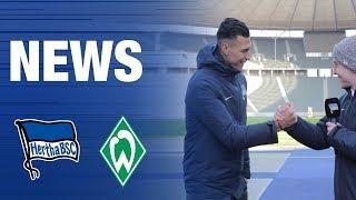 OLYMPIASTADION NEWS MIT SELKE INTERVIEW - Vorbericht - Werder Bremen - Hertha BSC