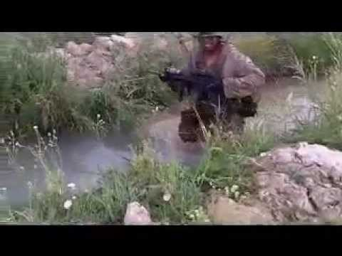 US Navy Hospital Corpsman Falls in Canal on Combat Patrol in Afghanistan, USMC Humor follows
