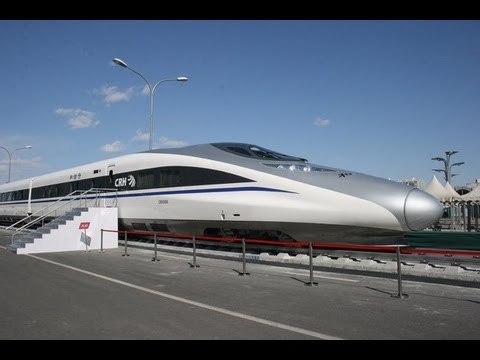 2. The CRH380A high-speed train is one of the four Chinese train series which have been designed for the new standard operating speed of 380 km/h (236 mph) o...