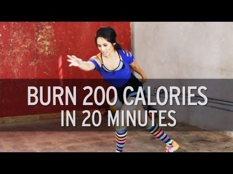 Burn 200 Calories in 20 Minutes
