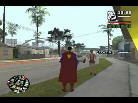 Gta San Andreas Superman Mod Cars Gta San Andreas Superman Mod