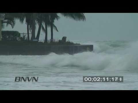 8/31/2008 Hurricane Gustav Video. Siesta Key, FL Part 2
