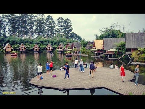 Foto wisata bandung lembang dusun bambu