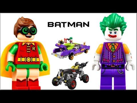Наборы LEGO Batman Movie 2017 Лоурайдер Джокера или Бэтмобиль Лего Фильм Бэтмен