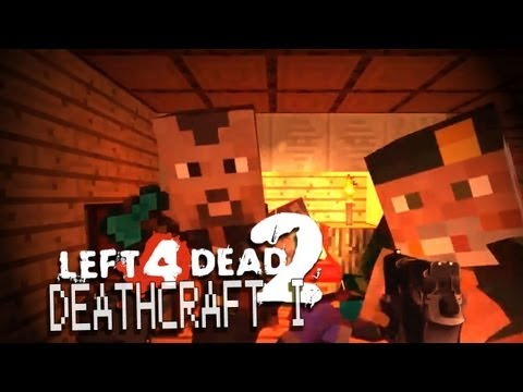 "DEATHCRAFT 2 Ep.1 - ""Winter Wonderland"" - Minecraft Map L4D 2"