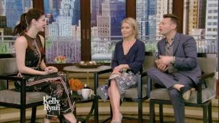 Alexandra Daddario on Kissing Zac Efron