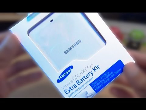 Official Genuine Samsung Extra Battery Kit Galaxy S4 IV / Unboxing / Review / Comparison
