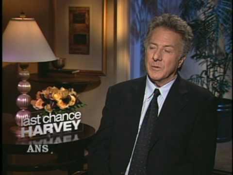 DUSTIN  HOFFMAN LAST CHANCE HARVEY ANS INTERVIEW