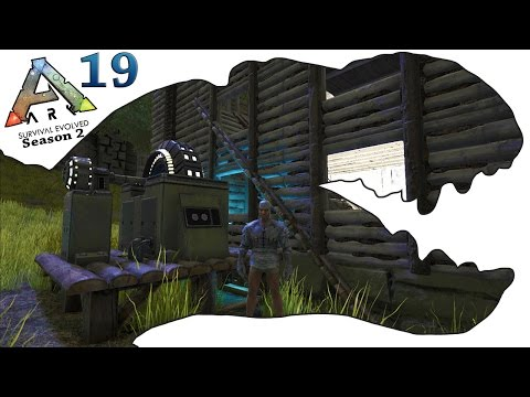 ARK Survival Evolved Gameplay - S2 Ep19 - Electricity and Home Improvements - Let's Play