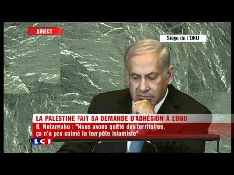 Discours Benjamin Netanyahu (Israël) à l'ONU pour la reconnaissance de l'Etat Palestinien