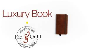 Meet The Luxury Book Leather iPhone XS Max Case from Pad & Quill