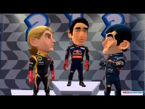 F1 Race Stars: Kimi Raikkönen @ Oceanian Cup (Singapore, Abi Dhabi, Australia, Japan)