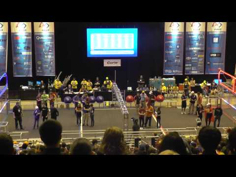 2014 Curie Division FRC Champs – Alliance Selections