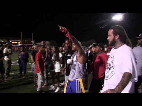 Don't Shoot: Nelly, Chris Brown, And The Game Protest Michael Brown Shooting In L.A.