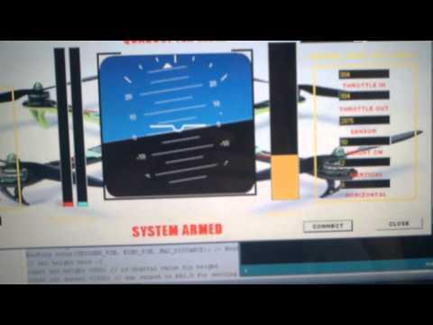 KK2.0 special options , arduino + apc220 +sonicsensor ,gimbal mod for reading uav software ,