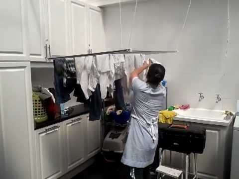 Tendedero de ropa suspendido youtube - Como hacer un tendedero de ropa ...