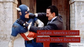 Captain America (1990) Honest Trailer Reaction