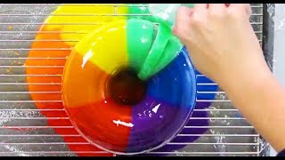 AMAZING RAINBOW CAKES & DESSERTS - Satisfying Rainbow Recipe Compilation - YouTube