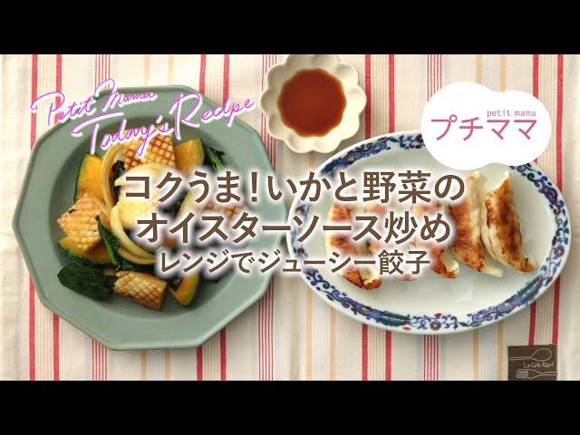 コクうま!いかと野菜のオイスターソース炒め(ビストロ)