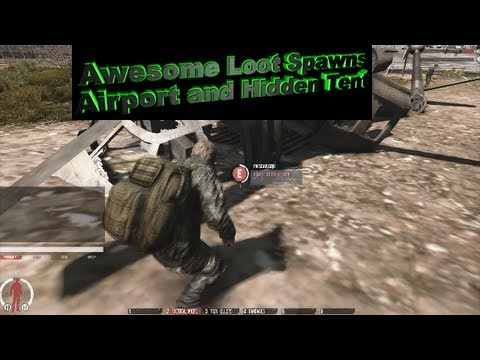 WarZ: Awesome Loot Spawns: Airport + Hidden Tent