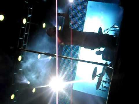 Dinho falando meu nome no palco em Primeiros erros, Petrolina - PE
