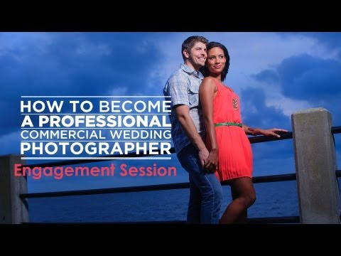 How to Photograph a Wedding Tutorial: Engagement Shoots
