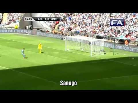 Arsenal vs Man City 3-0 . Chung kết Siêu cúp Anh
