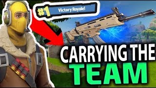 Fortnite CRAZY HIGH KILL FUNNY SQUAD GAME