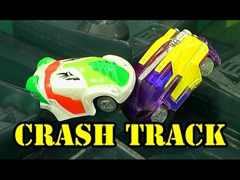 Micro Chargers Crash Track Ultimate Smash Action