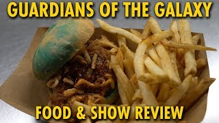 Guardians of the Galaxy Food & Awesome Mix Live Review | Epcot