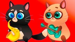 КОТЕНОК БУББУ #26 - ДЕТСКАЯ ПЕСНЯ КОТИКА - Bubbu My Virtual Pet игровой мультик для детей #ПУРУМЧАТА