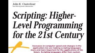 Read a paper: Scripting - higher level programming for the 21st Century