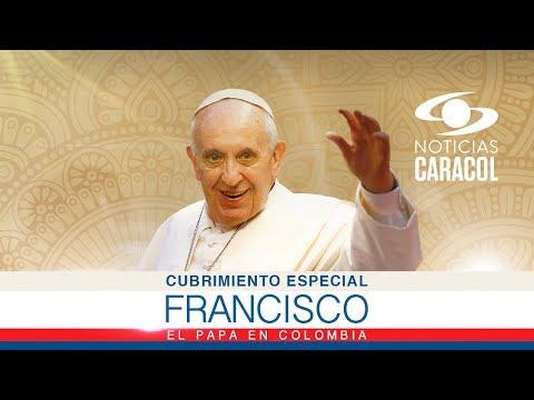 Visita del Papa Francisco a Colombia - Sep 6 de 2017 | Noticias Caracol