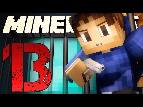 EPIC DIAMOND MINING Minecraft Prison: JAIL BREAK EPISODE 13