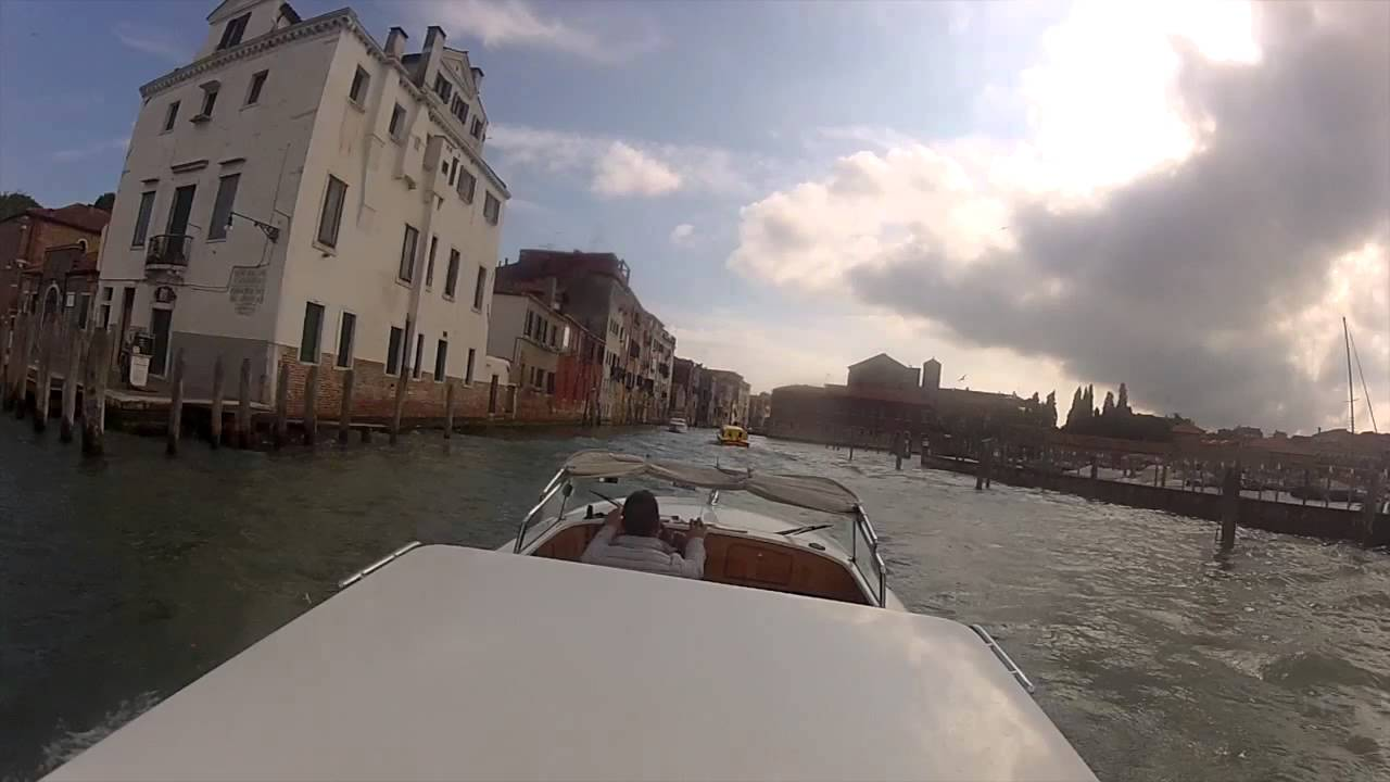 Venice Marco Polo Airport Transfer Delt Water Taxi