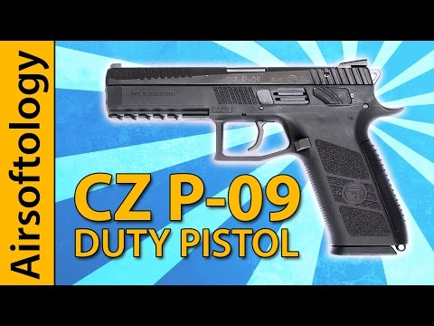 CZ P-09 Duty Review - ASG's Full Frame / Dual Power Blaster   Airsoftology