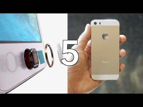 Top 5 Apple iPhone 5s Features!