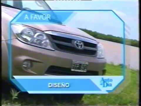 TEST  TOYOTA HILUX SW4 SRV 3 0 TD 2006. AUTO AL DÍA
