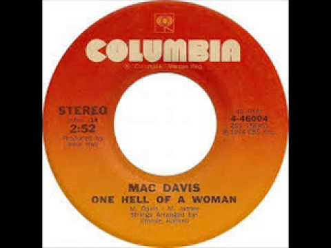 Mac Davis - One Hell of a Woman