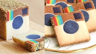 Instagram Cookies Slice & Bake!