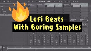 It's LIT! Making Fire LoFi Beats From Boring Samples In Ableton 10