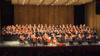 Zadok the Priest, UCLA, Rebecca Lord, Conductor, 2011