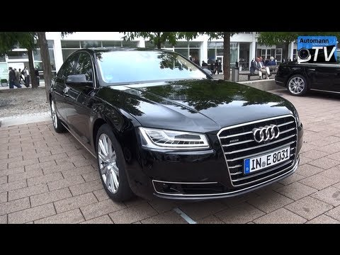 2014 Audi A8 Facelift 4.2 TDI (385hp) - In Detail (1080p FULL HD)