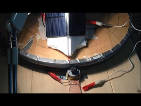Cool DIY Solar Tracker Self Powered No Electronics - How it Works