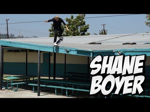 INSANE ROOF SKATER !!! SHANE BOYER - A DAY WITH NKA -